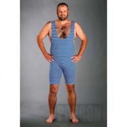 5300392e0 Retro plavky modro-bílé - Dárky pro muže i ženy